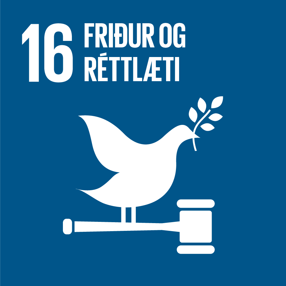 16: Friður og réttlæti